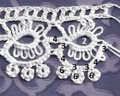 Threads of a Tatting Goddess: #15 of 25 Motif Challenge Lots of tat examples