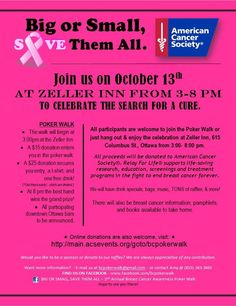 Breast Cancer Fundraiser !!!