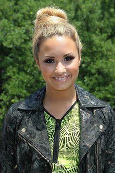 demi lovato blonde hair  | Mundo é Teen: A primeira Audição de ''The X Factor'' foi ...