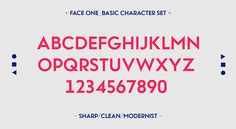 Twofaced No.2 Display Typeface on Behance