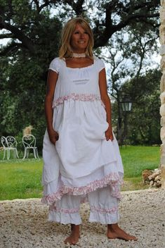 Feminine dress with bloomers!!