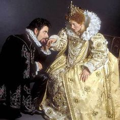 Queenie & Edmund - Blackadder II