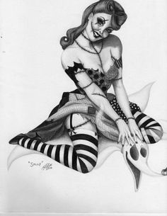 Really always wanted a pin up type tattoo, i lovvvveee this! :)