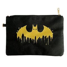 Batman Skyline Logo Canvas Pouch Bag * Be sure to check out this awesome product.