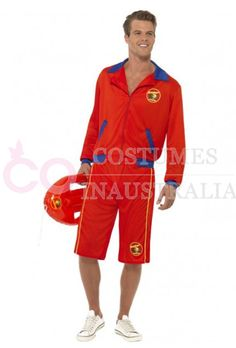 This Baywatch Lifeguard Beach Patrol Costume is perfect for role play. Shop online now!  sc 1 st  Pinterest & Baywatch Costume | Baywatch costume Costumes and Halloween stuff