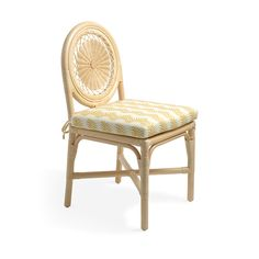 The meticulously wrapped rattan Carousel Chair has a steam-bent cane frame with finely woven rattan details within its circular back. It is hand-made in Soane Britain's Leicestershire rattan workshop. Table And Chairs, Side Chairs, Dining Chairs, Rattan Chairs, Dining Room, Wall Light Shades, Marble Wood, Drum Table
