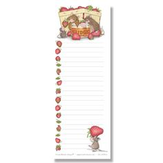 """""""Jr. Grocery Lister - 50 Sheets"""", Stock #: JGL-2015-6, from House-Mouse Designs®. This item was recently purchased off from our web site, www.house-mouse.com. Click on the image to see more information."""