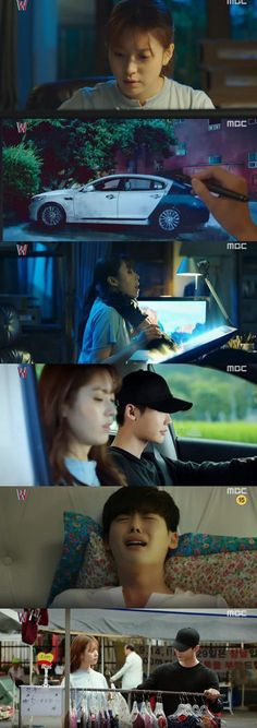 [Spoiler] Added episode 11 captures for the Korean drama 'W' Korean Drama Funny, Korean Drama Quotes, Jung Suk, Lee Jong Suk, Lee Jung, Miss In Kiss, W Kdrama, Kang Chul, Good Morning Call