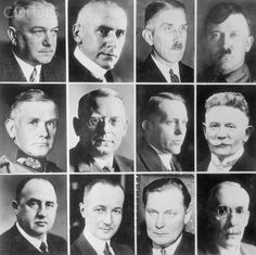 Portraits of Adolf Hitler and Cabinet Members - U213948ACME - Rights Managed - Stock Photo - Corbis. February 07, 1933