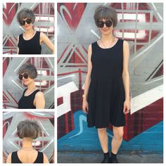 Cut and colour by Chantelle Rozic @ Heading out Bourke street.