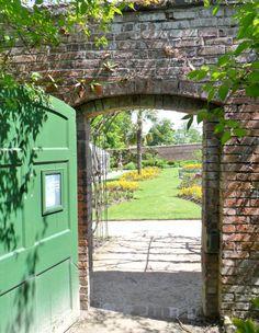 Gateway to walled gardens at Calke Abbey, Derbyshire, England      All Original Photography by http://vwcampervan-aldridge.tumblr.com