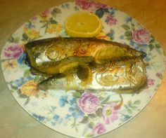 Mackerel baked with vegetables Pork, Meat, Chicken, Baking, Vegetables, Recipes, Madness, Fine Dining, Kale Stir Fry