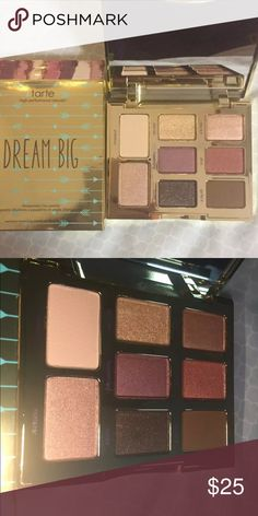 NEW••TARTE DREAM BIG PALETTE New in box. Beautiful. Price is firm unless bundled. tarte Makeup Eyeshadow