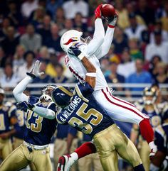 Larry Fitzgerald's first NFL Reception in 2004
