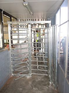 Leda's Knockdown full height bar turnstile provides the perfect solution for security in industrial, commercial, sporting and mining applications.