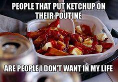 Do you put ketchup on everything? #poutine #followforfollow  Facebook: https://www.facebook.com/cdnaficionado/  Instagram:  https://www.instagram.com/cdnaficionado/  Twitter:  https://twitter.com/cdnaficionado