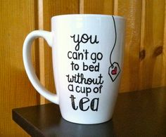 One Direction Coffee Mug  You Can't Go To Bed by Hinzpirations