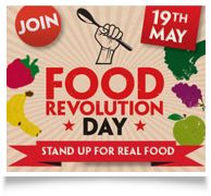 Food Revolution Day...  May 19th at Westwood Gardens!  Come join the fun.
