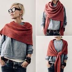 Plein soleil Knitting pattern by Isabell Kraemer, Mode Outfits, Fall Outfits, Fashion Outfits, Womens Fashion, Looks Style, Style Me, Look Fashion, Winter Fashion, Mode Ab 50