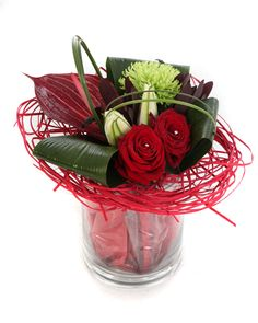 Gallery For > Unique Valentines Day Flower Arrangements