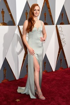 Sophie Turner at the 88th Annual Academy Awards