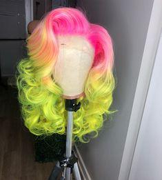 Black Girl Braided Hairstyles, Girls Natural Hairstyles, Pretty Hairstyles, Wig Hairstyles, Natural Hair Styles, Reverse Ombre Hair, Pretty Hair Color, Hollywood Hair, Hair Laid