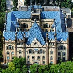 Magyar Állami Földtani Intézet, Budapest