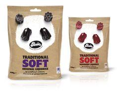 Panda soft liquorice packaging#sachet #plastiques #plastic #bags #pillow #single #serve #emballage  #zip  #sacs#souple #packaging