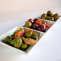 Variedad de aceitunas de la campiña sevillana. www.buenossabores.com
