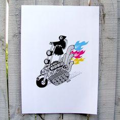 Hellraiser A5 Giclée Art Print $15