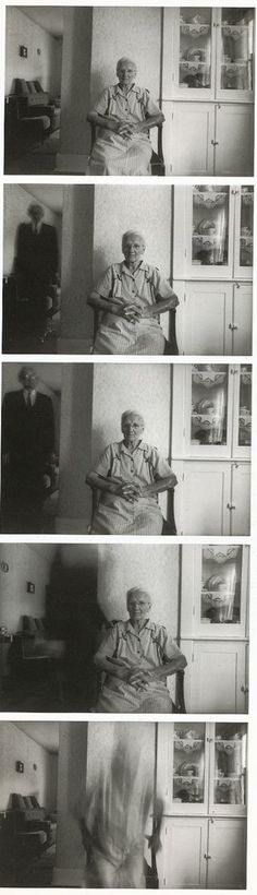 Duane Michals: Death comes to the old lady