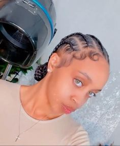 Canerow Hairstyles, Braids Hairstyles Pictures, Black Girl Braided Hairstyles, Girls Natural Hairstyles, Curly Hair Styles, Natural Hair Styles, Birthday Hairstyles, Hair Laid, Hair Health
