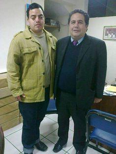 Freddie Armando Romero y Carlos Fernández, especialista en Realidad Aumentada. (2013)