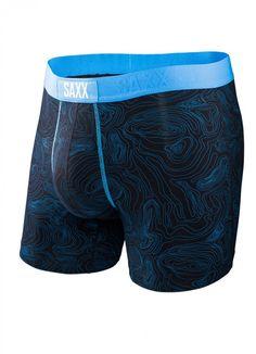 Saxx Underwear Vibe Boxer Modern Fit - Malibu Topo - size S, Men's Underwear, Men's Boxer Briefs, Men's Boxers, Bra Shop, Models, Gym Shorts Womens, Mens Fashion, Swimwear, How To Wear