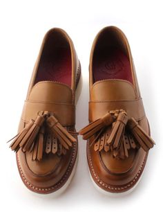 Love the fringe and tassle's from Grenson