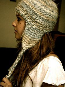 Short and Sweet Earflap Hat | AllFreeKnitting.com