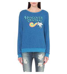 WILDFOX Hangover Central jersey sweatshirt