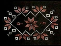 Ceramic Flowers, Cross Stitch Designs, Needlepoint, Hand Embroidery, Knitting, Sewing, Salons, Disney, Youtube