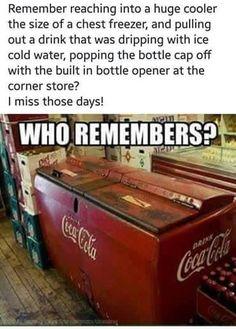 Old School Coke Machine Coke Machine, Vending Machine, Coca Cola, Chest Freezer, High School Years, Good Ole, Rear View Mirror, The Good Old Days, Childhood Memories