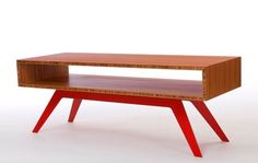 Bamboo plywood table