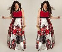 Size:L,XL,XXL,XXXL,XXXXL,XXXXXL   Gender:Female Neck:Boat neckline Sleeve:sleeveless Color:multicolo
