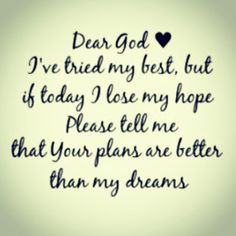 Dear God #quote - BrassyApple.com