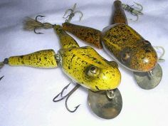 Frog lures r extremely valuable n hard 2 come by!