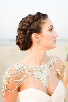white moroccan wedding style // brides of adelaide magazine