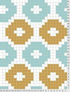 Gráfico tapestry crochet