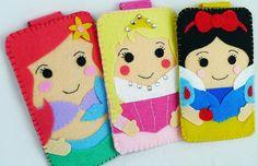 Disney Princess felt iPhone cases