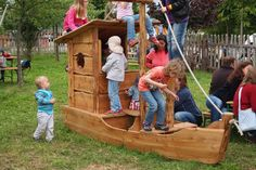 Piratenschiff Spielschiff für Kinder