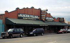 east glacier village | Glacier Village Restaurant Inc in East Glacier Park Montana.  I worked here for a summer.