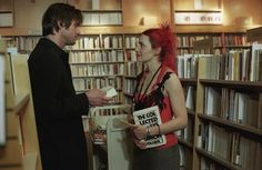 eternal sunshine of the spotless mind: the memory-wiping sequence here is one of my favorite bookstore scene a movie