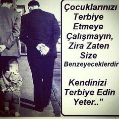 Çocuklarınız Albert Einstein Education, Albert Einstein Quotes, Favorite Quotes, Best Quotes, Life Quotes, Turkish Sayings, Good Sentences, Smart Quotes, Meaningful Words